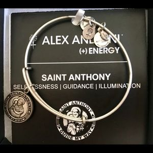 Alex and Ani Saint Anthony Bangle